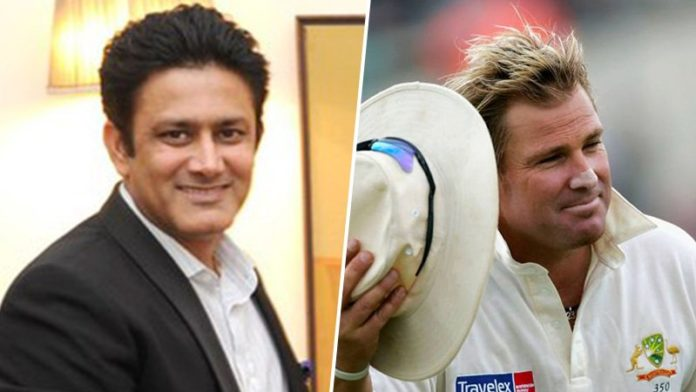Anil Kumble On Being Compared With Australian Spinner Shane Warne