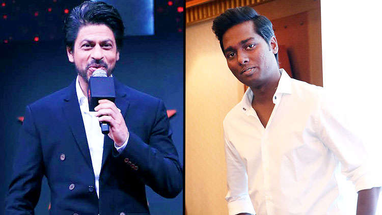 Bigil director Atlee drops a hint about his collab with Shah Rukh Khan