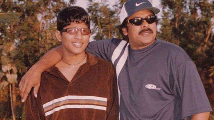 Blast from the past A picture of Allu Arjun for his teen days is bound to leave you speechless