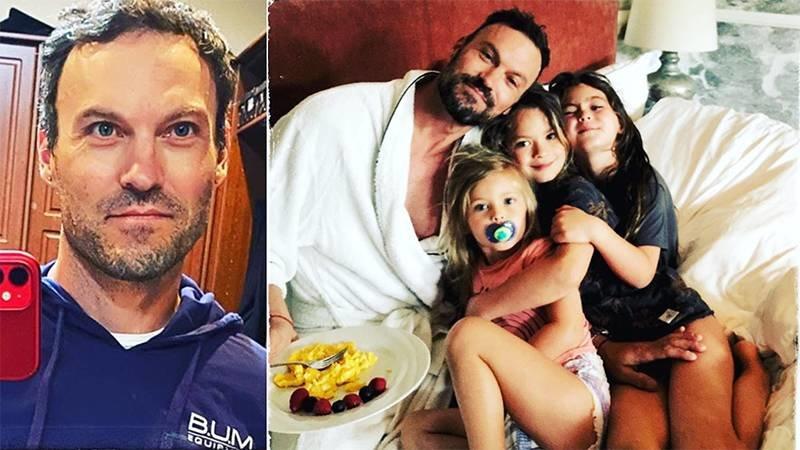 Brian Austin Celebrated His 47th Birthday With His & Ex Megan Fox's Kids