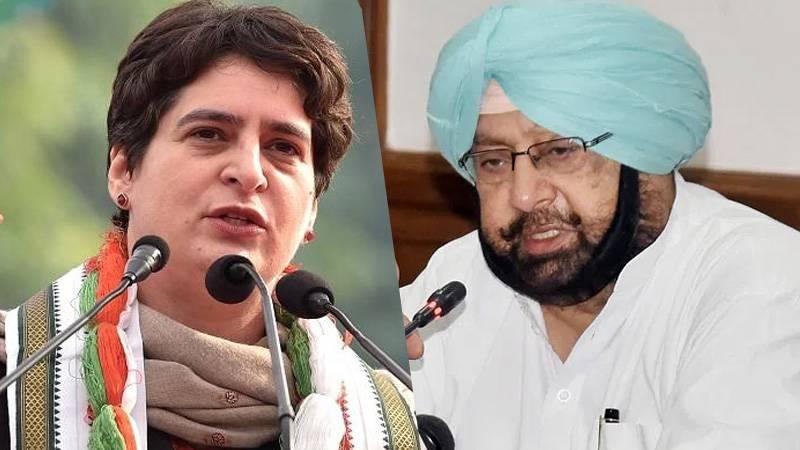 Capt Amrinder to Centre Priyanka Gandhi faces security threat, let her retain govt house