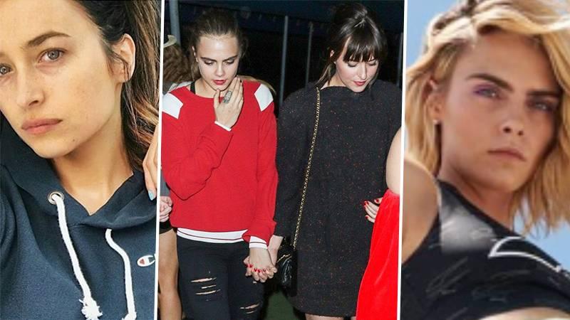 Dakota Johnson & Cara Delevingne Were A Thing Back In 2016?