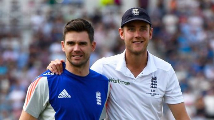 Here's How Stuart Broad Gets Inspiration From His Teammate James Anderson