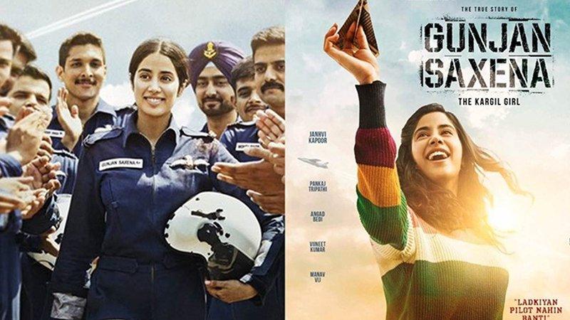 IAF Writes To CBFC Objecting Some Undue Negative Portrayal In Gunjan Saxena: The Kargil Girl