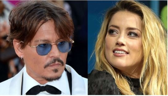 Johnny Depp Accused Of Slapping Amber Heard