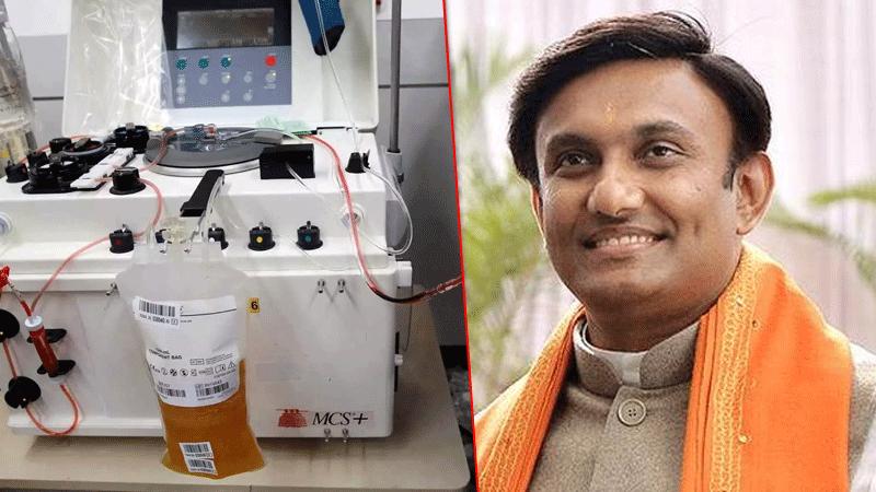 Karnataka to provide ₹5,000 to COVID-19 survivors who donate plasma