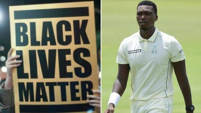 Lungi Ngidi Gets Himself Stuck Into Black Lives Matter Controversy