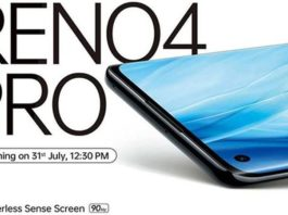 Oppo Reno 4 Pro confirmed to launch on July 31 in India