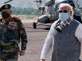 PM Modi makes surprise visit to Ladakh amid tensions with China over Galwan clash
