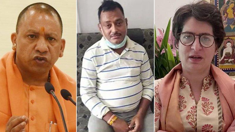 Priyanka Gandhi: What about those who were protecting Vikas Dubey