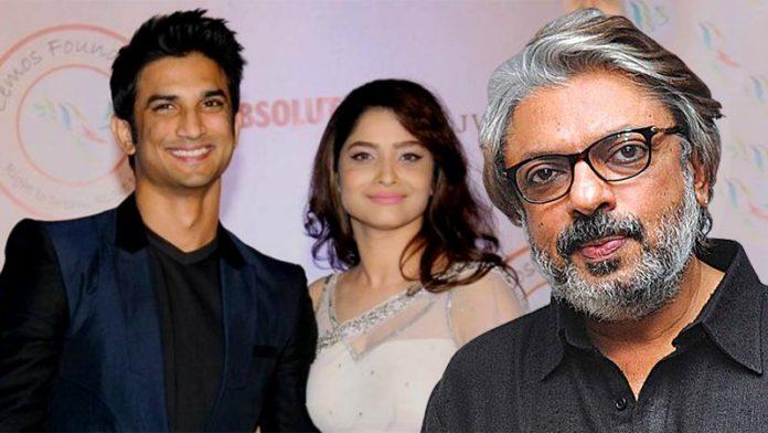 Sushant Singh Rajput & Ankita Lokhande Were To Be Cast In Bajirao Mastani?