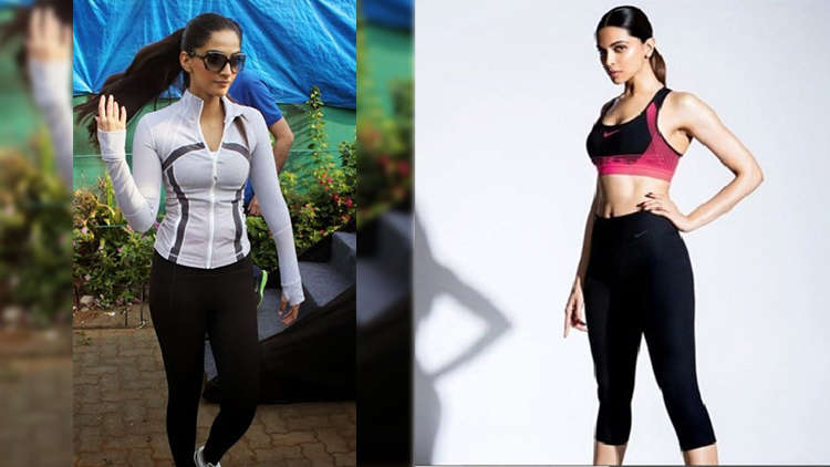 Sonam Kapoor Or Deepika Padukone: Who Looks hot in Gym Clothes?