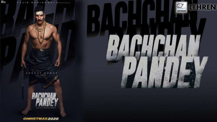 First Look of Akshay Kumar From His Upcoming ' Bachchan Pandey'