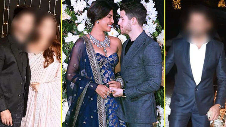 You won't believe who turned up at Priyanka and Nick's wedding reception!
