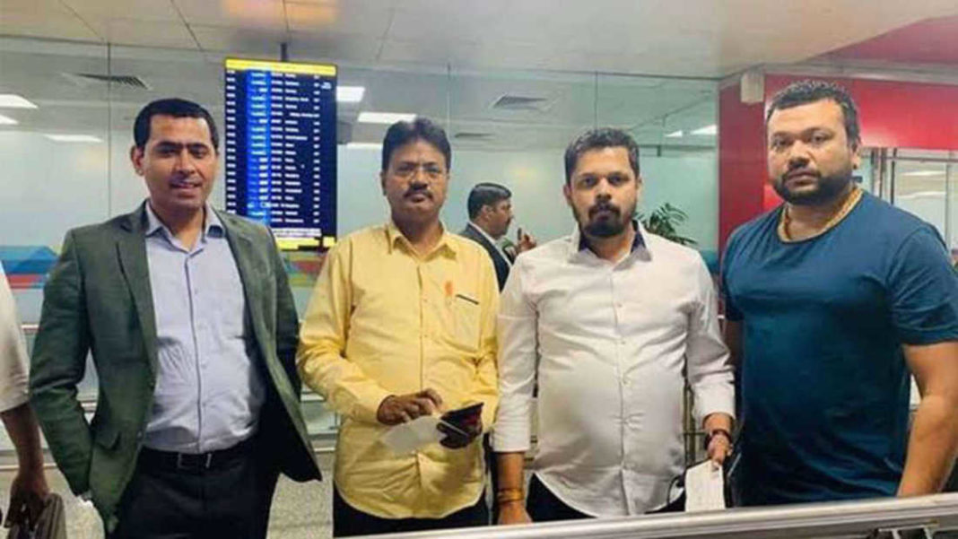 2 'missing' NCP MLAs flown back to Mumbai, pledge support to Sharad