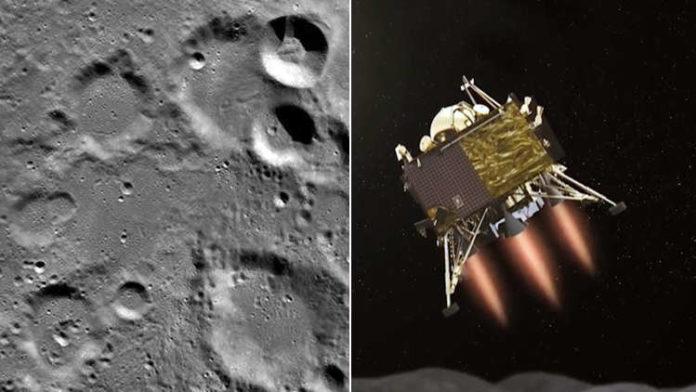 NASA releases images of India's moon lander Vikram!