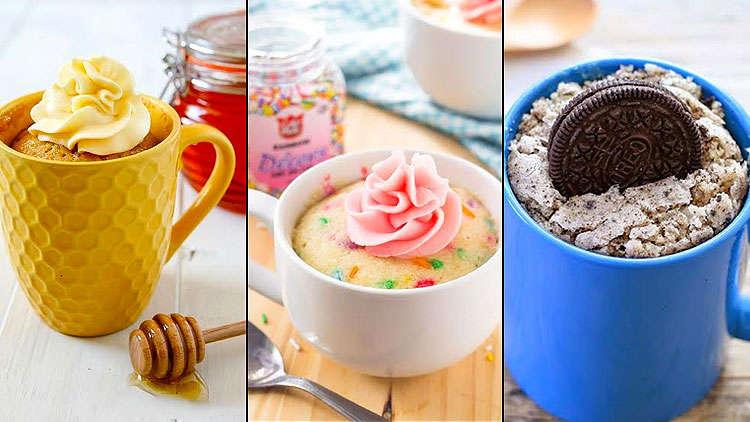 5 Easy mug cakes recipes to curb your cake-cravings