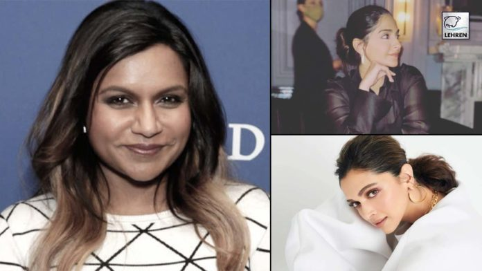 Mindy fondness Deepika Sonam