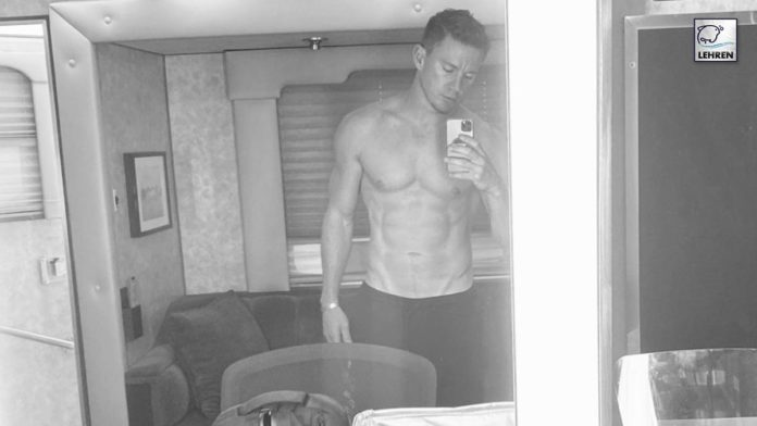 Channing Masters Shirtless Selfie