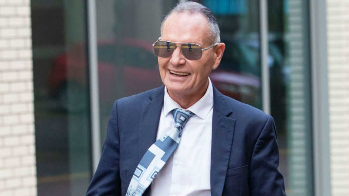 England legend Paul Gascoigne 'kissed a fat lass' on the lips to boost her confidence, court hears