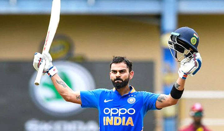 Virat Kohli becomes the first one to score 20,000 International runs in a decade