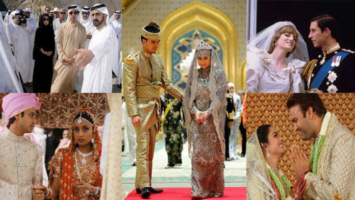 5 Most Expensive Weddings Ever