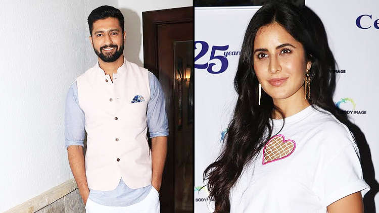 Katrina and Vicky leave a party together thereby giving rise to dating rumors