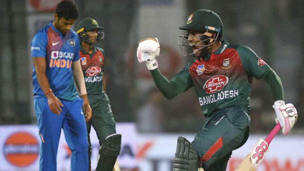 Mushfiqur guides Bangladesh to maiden T20I win against India : India vs Bangladesh