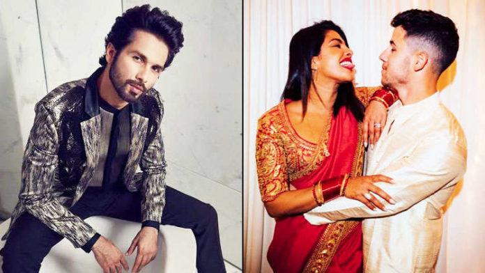 Shahid Kapoor has this advice for her ex-Priyanka Chopra and Nick Jonas