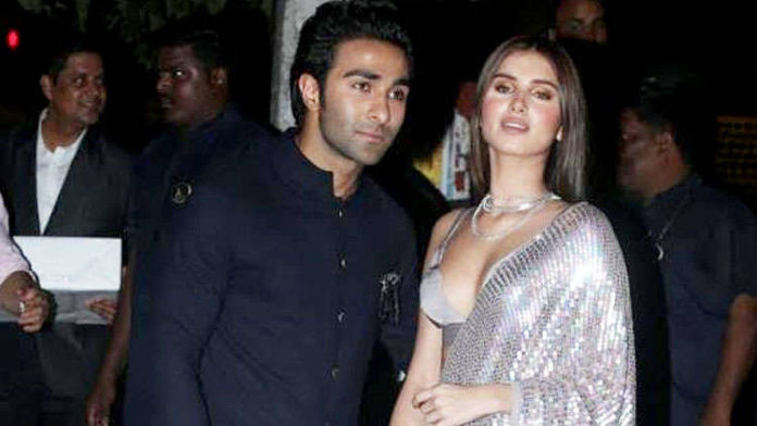 Tara Sutaria attends the Bachchans' Diwali bash with Aadar Jain and fuels dating rumours