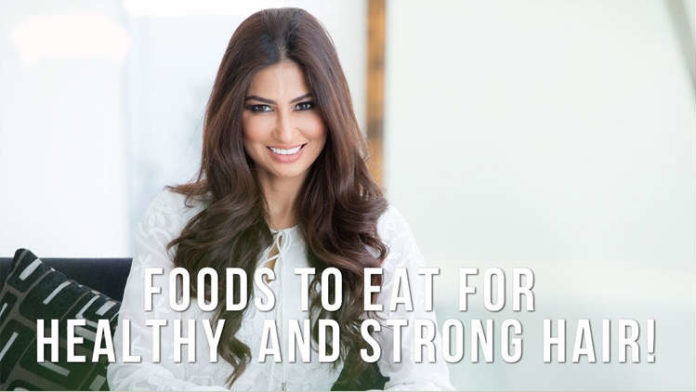 5 Healthy Foods for Healthy and Strong Hair