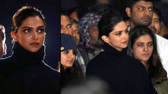 Actress Deepika Padukone joined JNU protest received both criticism and appreciation on social media