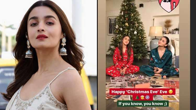 Alia Bhatt Along With BFF Akansha Shares An Adorable Picture Of Themselves To Wish Everyone A Merry Christmas