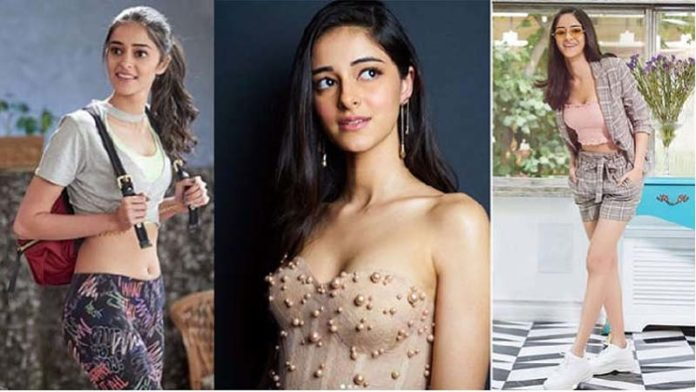 Ananya Pandey's Hot Looks With Innocent Face In Neon Outfit