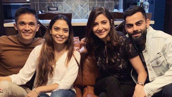 Anushka Sharma and Virat Kohli Catch Up With Sunil Chhetri And His Wife For Dinner Post India's Victory Against Australia