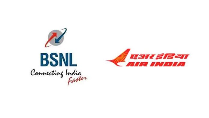 BSNL, Air India, MTNL were highest loss-making PSUs in 2018-19