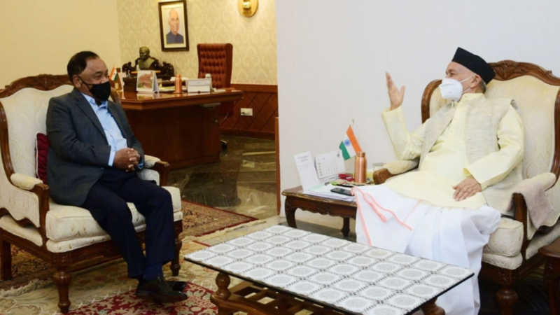 Covid-19: BJP MP Narayan Rane meets Maha Guv, demands President's rule in state