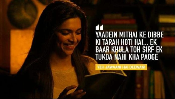 Deepika Padukone famous and unforgettable movie dialogues proved a powerful actress from Bollywood