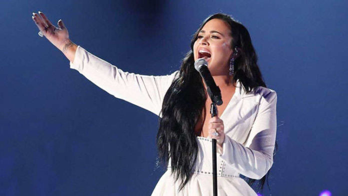 Demi Lovato Breaks Down While Performing 'Anyone' At The Grammy Awards 2020