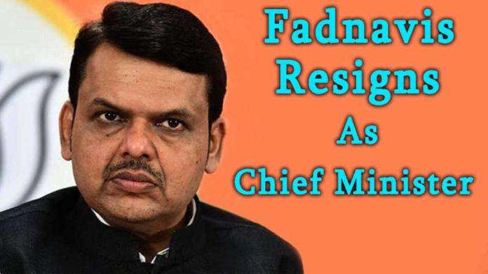Devendra Fadnavis resigns as Maharashtra CM, says BJP doesn't have majority