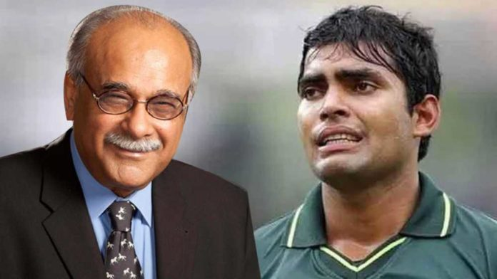 Ex-PCB Chairman Najam Sethi: Umar Akmal suffered from epilepsy, he wasn't willing to accept it
