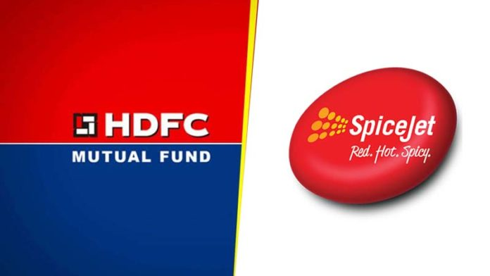 HDFC Mutual Fund subsidiary buys 5.45% stake in SpiceJet