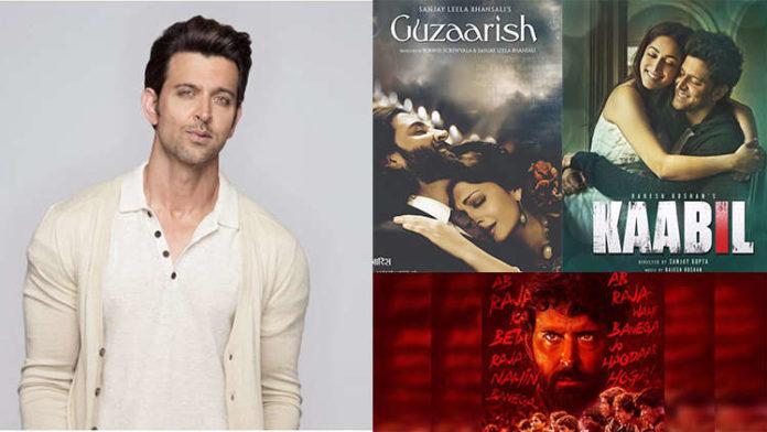 From Guzaarish to Super 30, Hrithik Roshan has played unique roles
