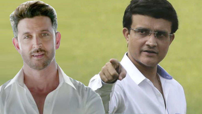 Hrithik Roshan On Cards For A Biopic On Sourav Ganguly?