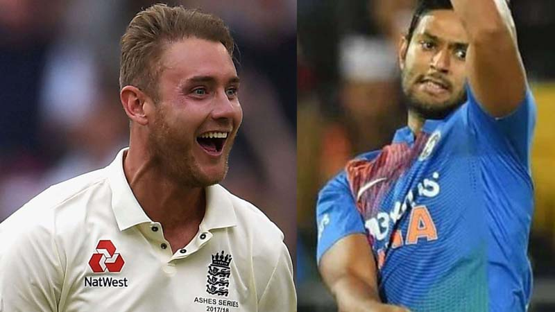 ICC asks which bowler conceded most runs in an over in a T20I, Broad responds
