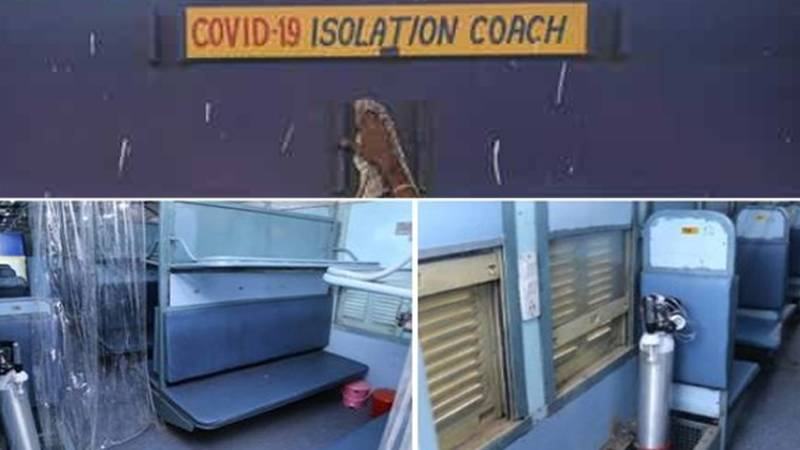 Indian Railways arranges 960 COVID care coaches in five states