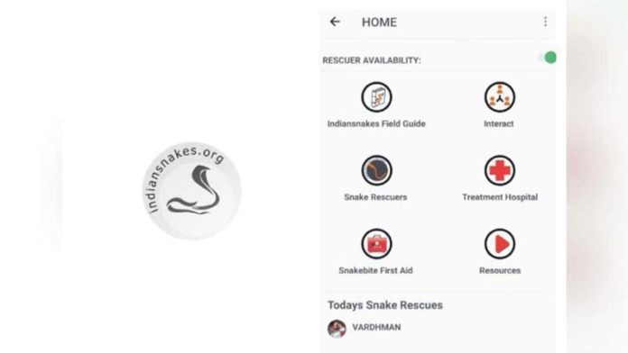 Indian zoologists build an app for snake-bite emergencies