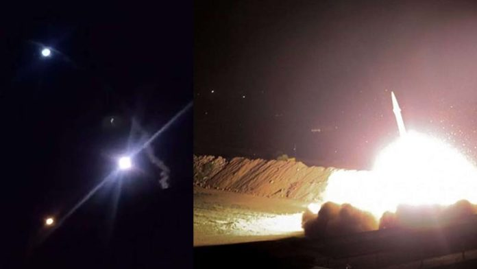 Iran releases video of missile attack on US military bases in Iraq