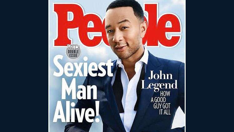 John Legend is deemed 'Sexiest Man Alive' in 2019 by People Magazine