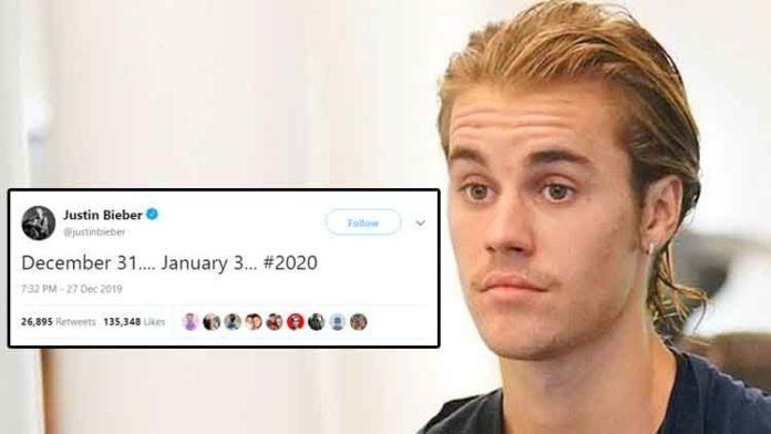 Justin Bieber May Release Song Or Teaser On New Years Eve!